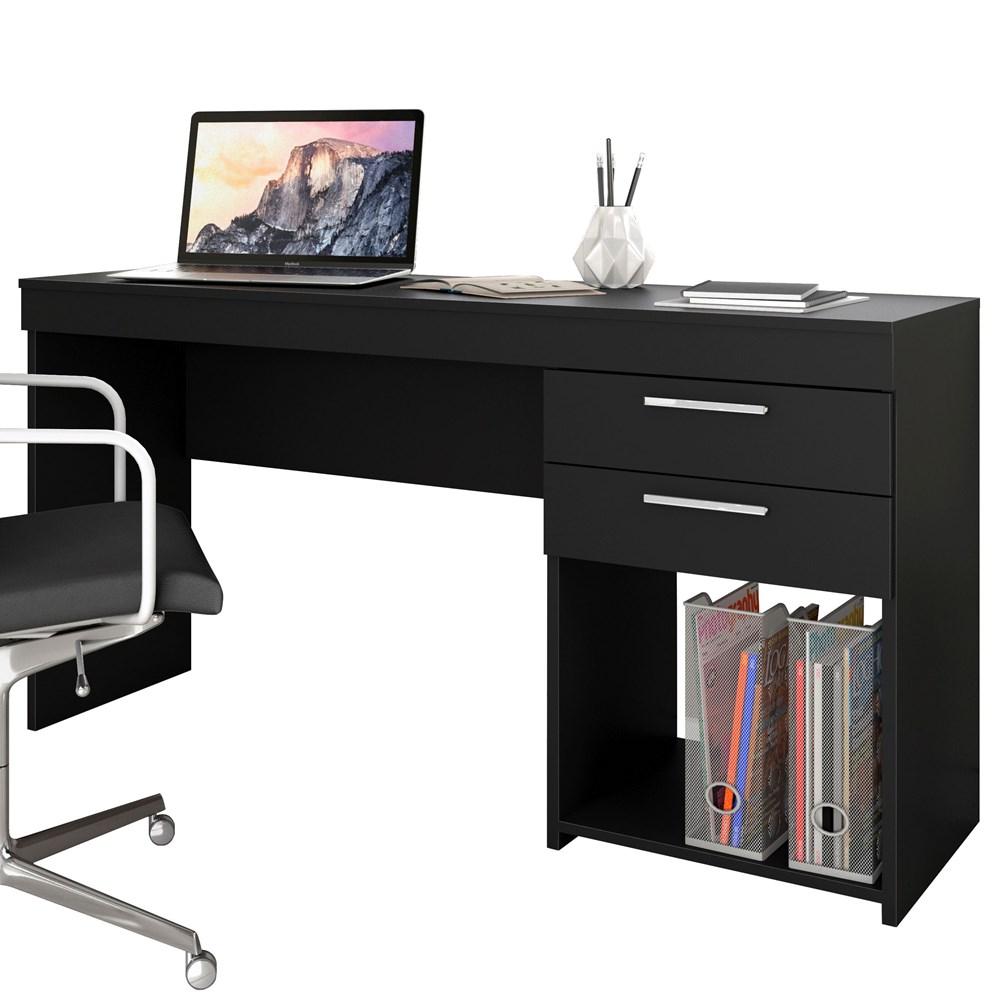 Mesa de Escritório Office Preta Notável Móveis