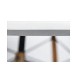 Mesa de Jantar Eiffel Para 6 Lugares 1,20m Branca
