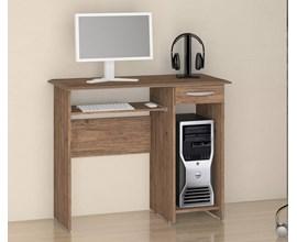 Mesa para Computador Siena Castanho Notável Móveis