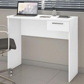 Mesa para Escritório Office 90 cm com 1 Gaveta Branca Casa Aberta Brasil