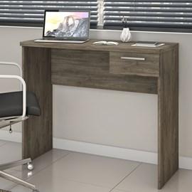 Mesa para Escritório Office 90 cm com 1 Gaveta Canela Casa Aberta Brasil
