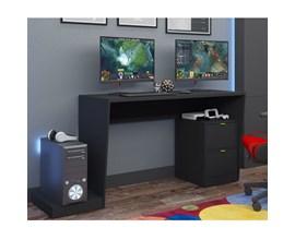 Mesas Para Computador Gamer BMG 01 Preta BRV Móveis
