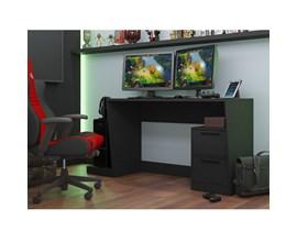 Mesas Para Computador Gamer Bmg 02 Preta Brv Móveis