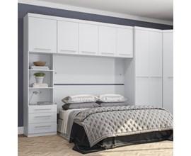 Painel 1552mm para Módulo Dormitório Branco A901 Kappesberg