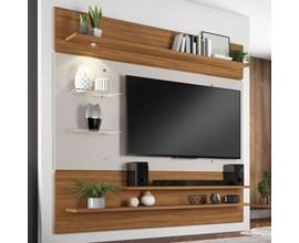 Painel Nt 1010 Para Tv Até 60 Polegadas Freijó Trend e Off White Notável Móveis