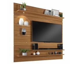 Painel Nt 1010 Para Tv Até 60 Polegadas Freijó Trend Notável Móveis
