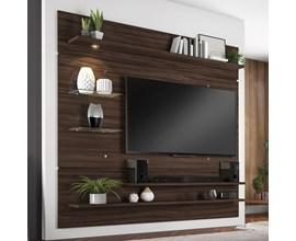 Painel Nt 1010 Para Tv Até 60 Polegadas Malbec Trend Notável Móveis