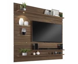 Painel Nt 1010 Para Tv Até 60 Polegadas Nogal Trend Notável Móveis