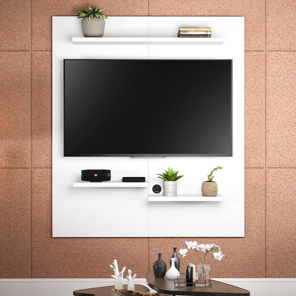 Painel Nt 1070 Para Tv Até 50 Polegadas Branco New Notável Móveis