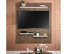 Painel Nt 1070 Para Tv Até 50 Polegadas Nogal Trend Notável Móveis