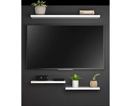 Painel Nt 1070 Para Tv Até 50 Polegadas Preto Notável Móveis