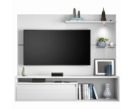 Painel Nt 1090 Para Tv Até 60 Polegadas Branco New Notável Móveis