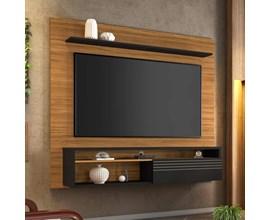 Painel Nt 1100 Para Tv Até 60 Polegadas Freijó Trend Notável Móveis