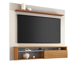 Painel Nt 1100 Para Tv Até 60 Polegadas Off White Freijó Notável Móveis