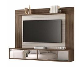 Painel Nt 1105 Para Tv Até 55 Polegadas Nogal Trend Notável Móveis