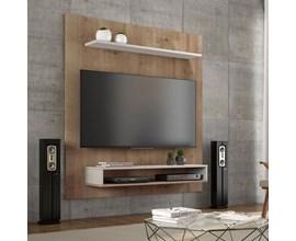 Painel Para Tv 50 Polegadas Nt1095 Canelato com Areia Notável Móveis