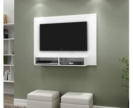 Painel Para Tv Até 43 Polegadas com Nicho Eros Branco Notável Móveis