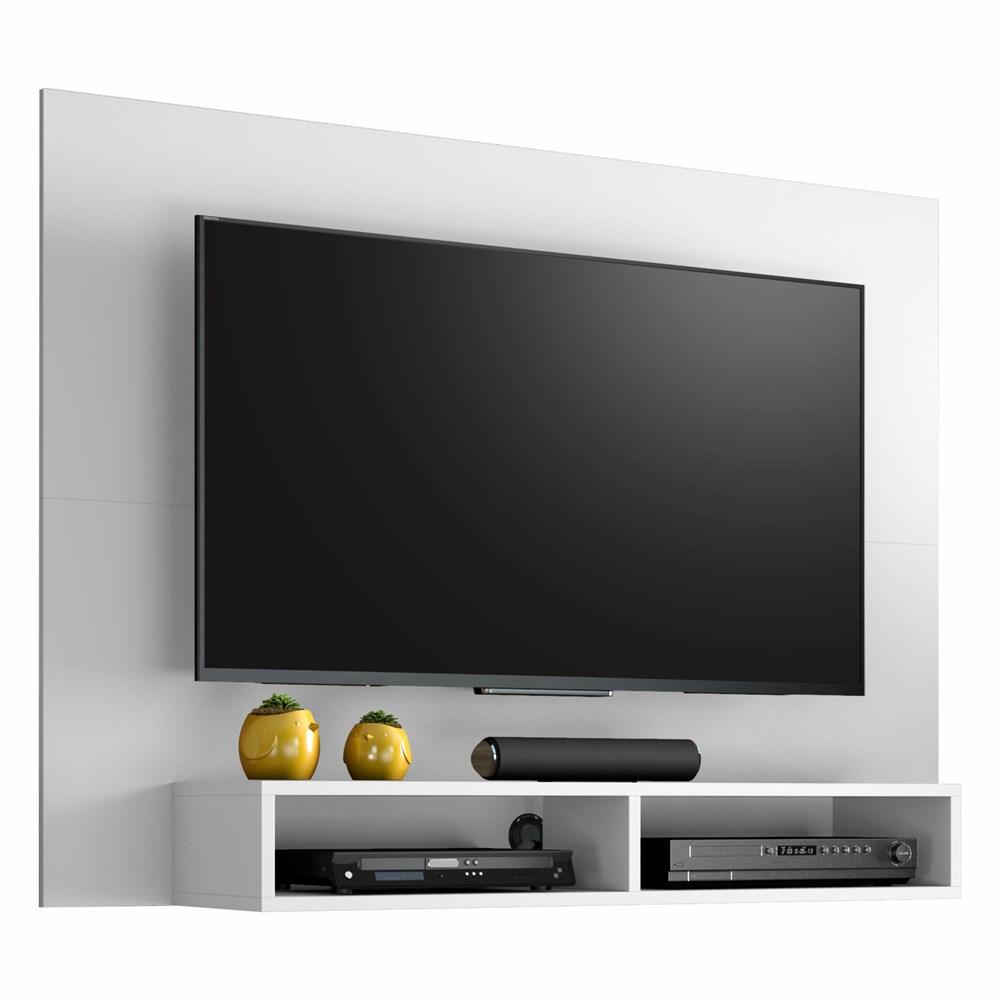 Painel para Tv até 49 Polegadas com Nicho Eros Branco Notável Móveis