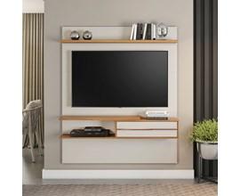 Painel para Tv até 55 Polegadas Off White e Freijó NT1155 Notável Móveis