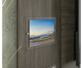 Painel Para Tv Até 55 Polegadas Retrato Canela Notável Móveis