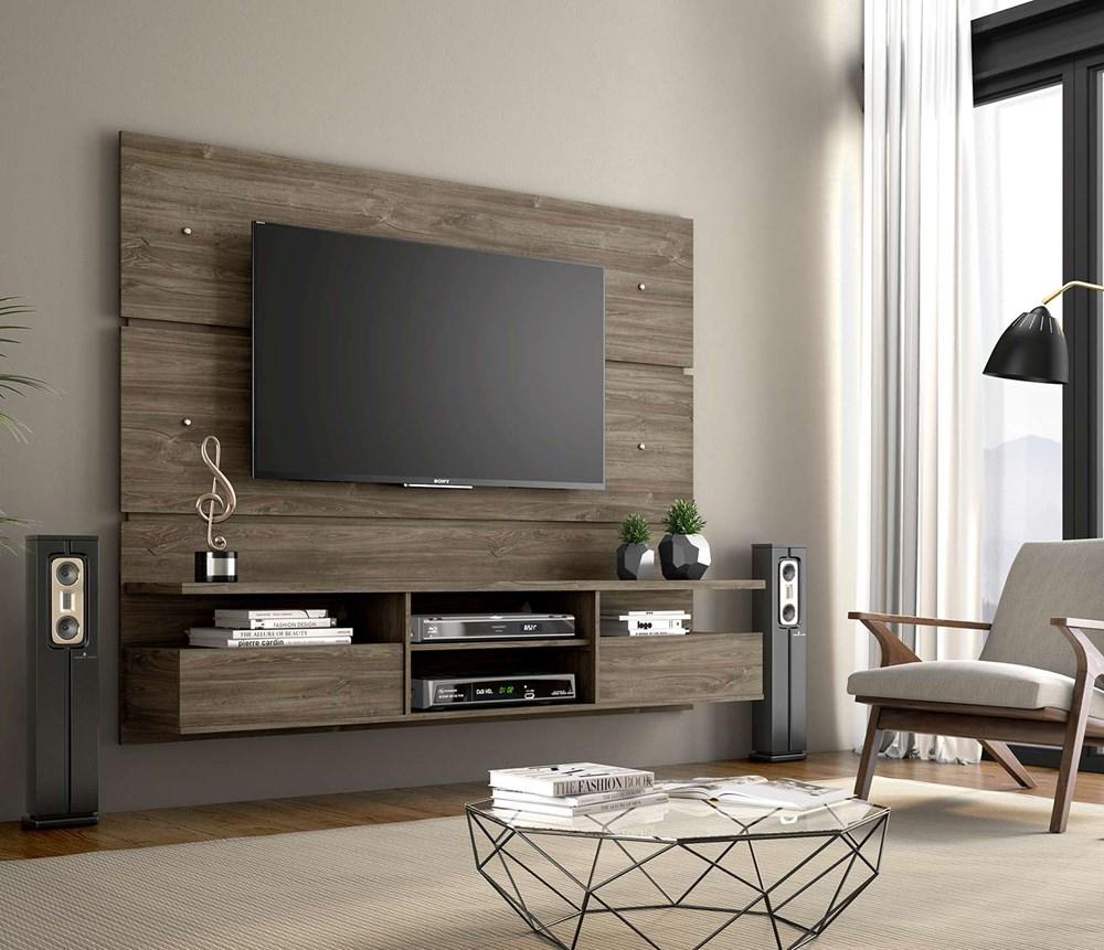 Painel para TV até 60 Polegadas Master Canela Notável Móveis