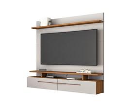 Painel para Tv até 60 Polegadas Off White e Freijó NT1110 Notável Móveis