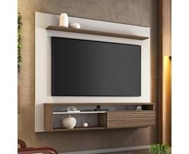 Painel para Tv até 60 Polegadas Off White e Nogal NT1100 Notável Móveis