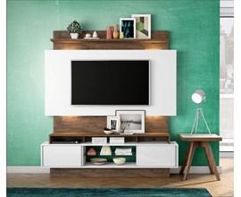 Painel Para Tv Tb112l Branco Brilho Off-White / Nobre Dalla Costa
