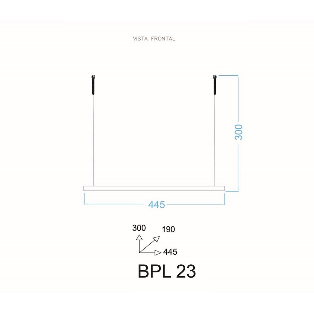 Prateleira Decorativa BPL23 Nature Branca BRV Móveis