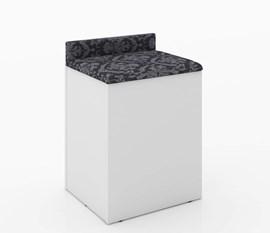 Puff Baú com Encosto PE2052 Branco/Preo Tecno Mobili