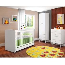 Quarto de Bebê Docinho Branco Art in Móveis