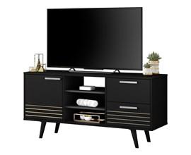 Rack Aparador para TV até 50 polegadas NT1135 Preto Amoudi Móveis