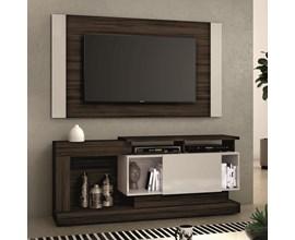 Rack com Painel Nt 1065 Para Tv Até 55 Polegadas Malbec Trend  Notável Móveis