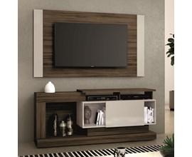 Rack com Painel Nt 1065 Para Tv Até 55 Polegadas Nogal Trend Notável Móveis