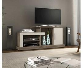 Rack para TV até 43 polegadas Lottus Canela/Areia Notável Móveis